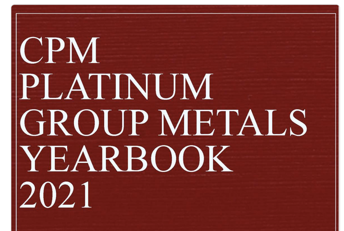 CPM GROUP : The PLATINUM GROUP METALS Yearbook Launch